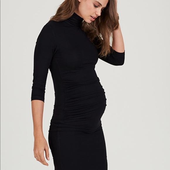 6054bcf94d128 Isabella Oliver Dresses & Skirts - Isabella Oliver turtleneck body on maternity  dress